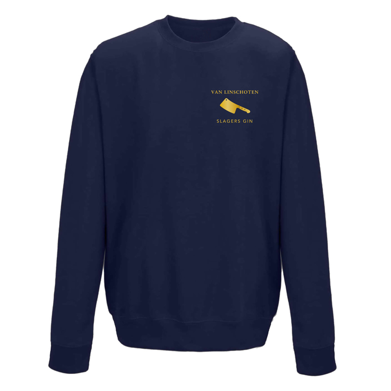 Sweater Slagers Gin Navy Blue